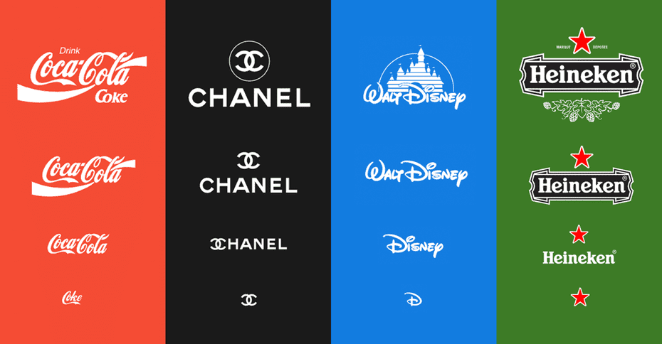 responsive logos via Joe Harrison